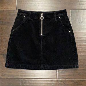 Arizona black corduroy skirt